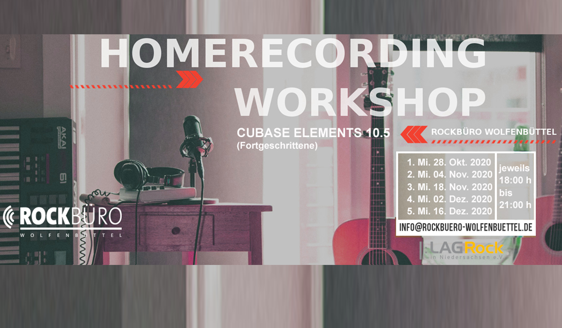 Homerecording mit Cubase Elements