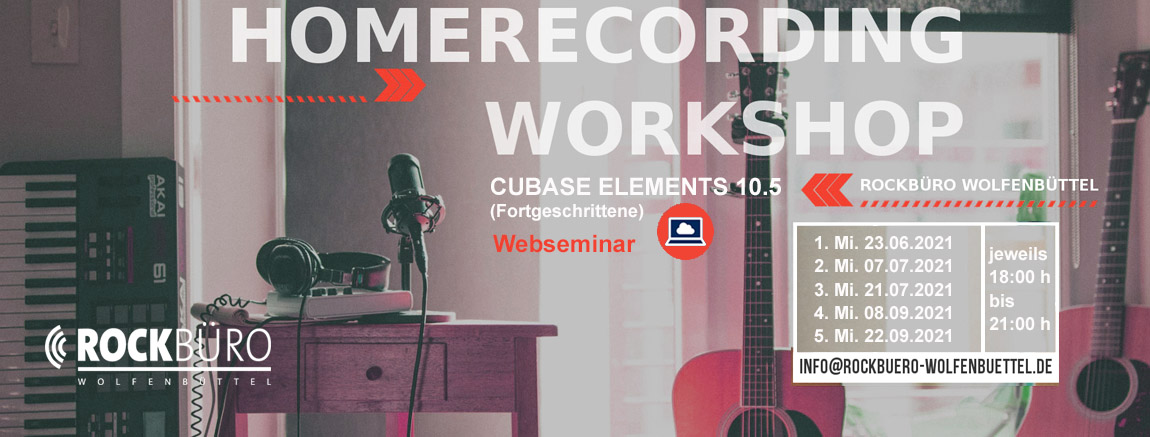 HR cubase workshop 2021