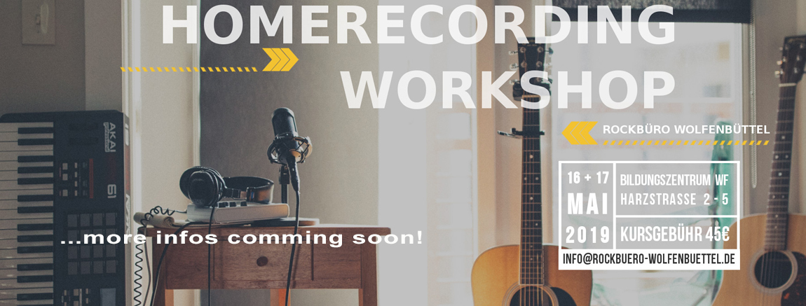 Homerecording Workshop