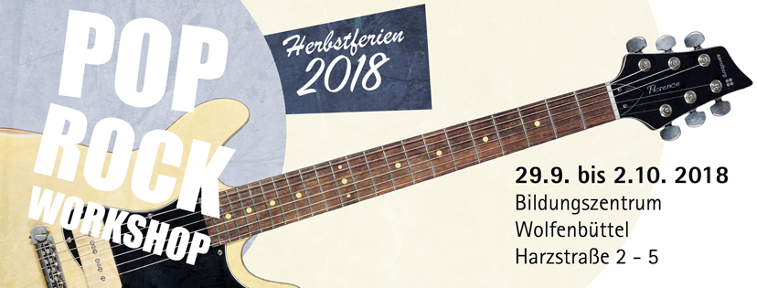 Pop Rock Workshop 2018