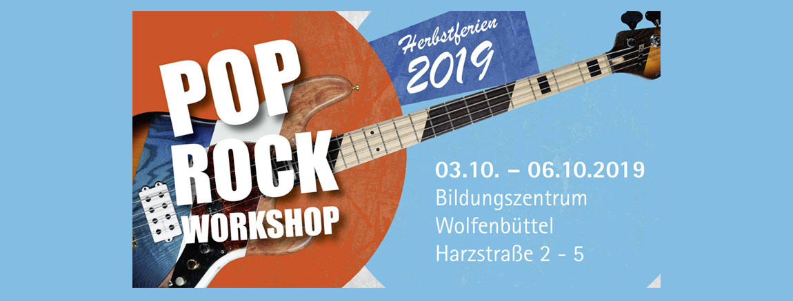 Pop Rock Workshop 2019