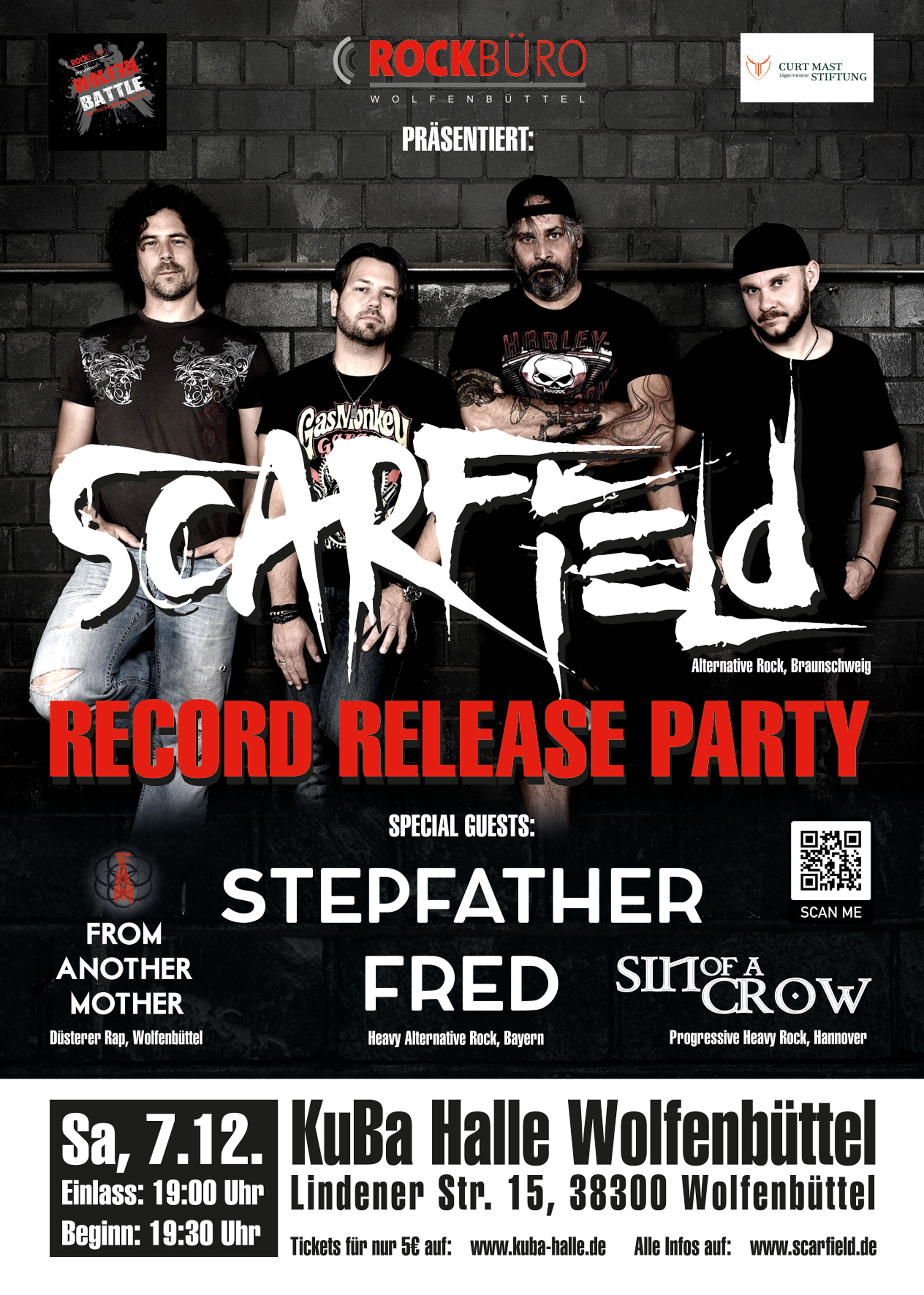 SCARFIELD - Record Release Party