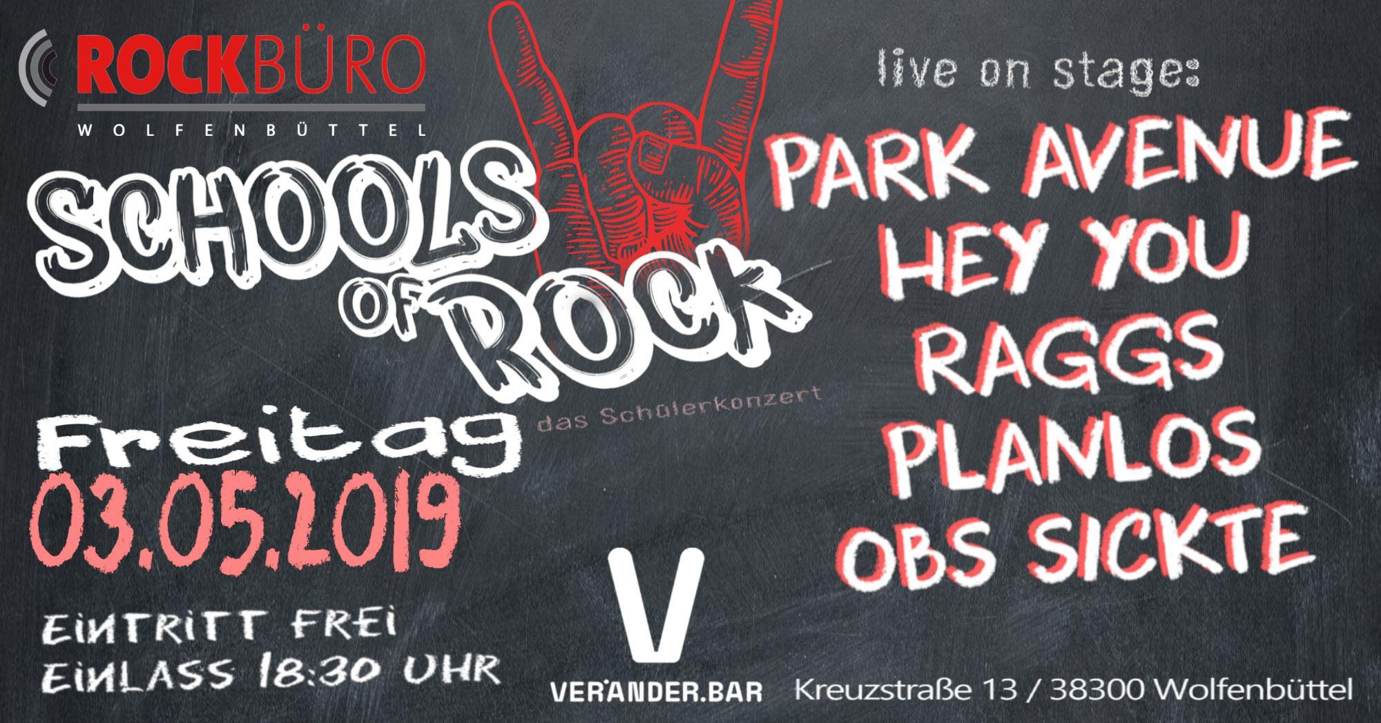 Schools of Rock @ VeränderBar