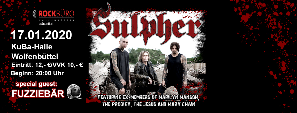 Sulpher + Fuzziebär